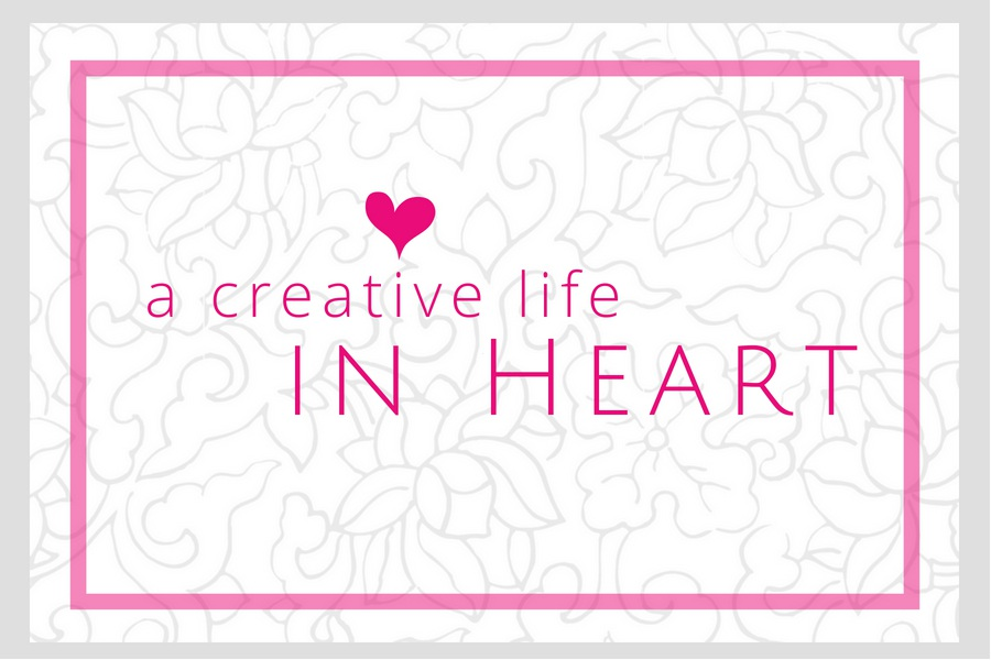 deliberate creative life in HEART by Karen on INTOMYWINDOW
